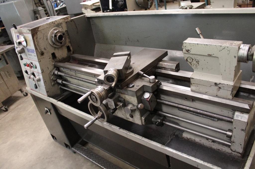 Lot 38 - Sharp Model 1440 gap bed lathe