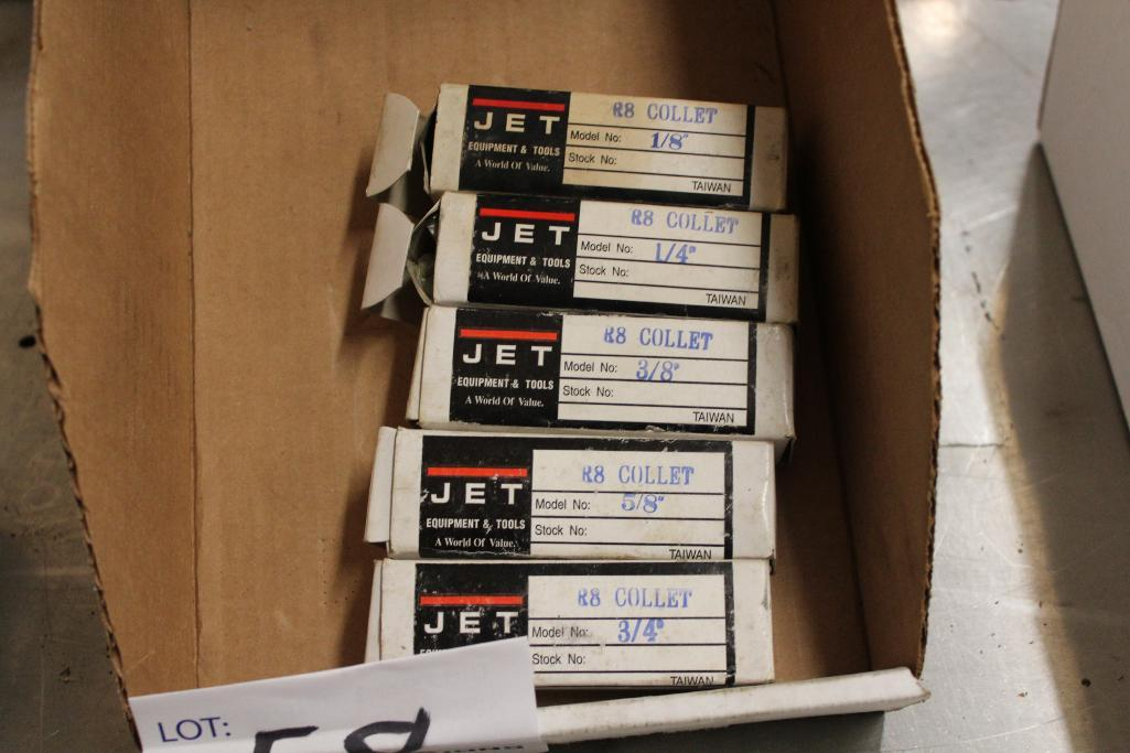 Lot 58 - Jet R-8 collet set
