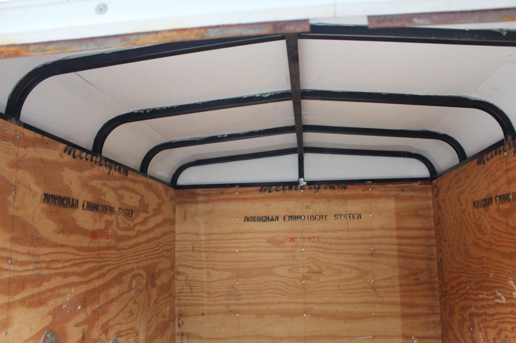 Lot 24 - 5' Enclosed trailer, shop built
