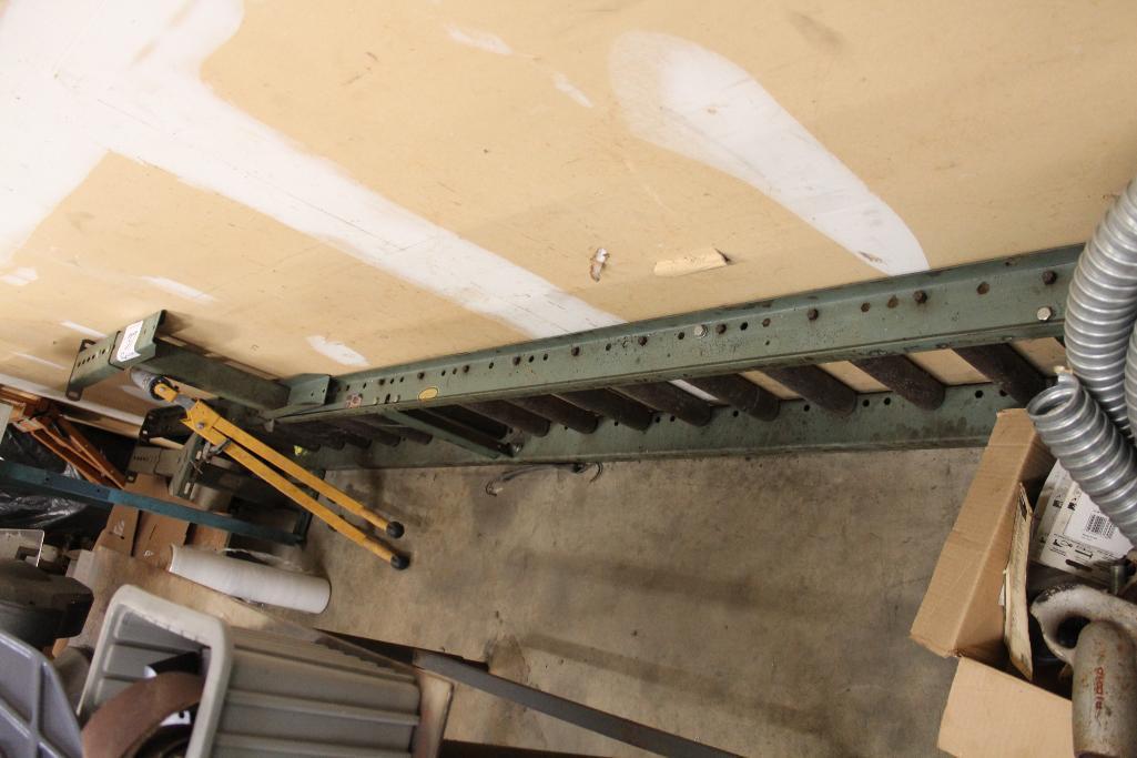 """Lot 37 - Hytrol roller conveyor 10' x 16"""""""