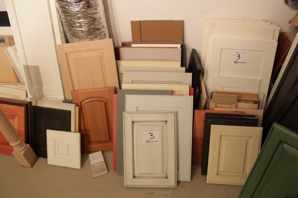 Lot 3 - Cabinet door samples