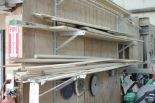 Lot 12 - Lumber & molding on rack