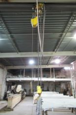 Lot 55 - Budget Chain Hoist, 1,000 Lb. Capacity