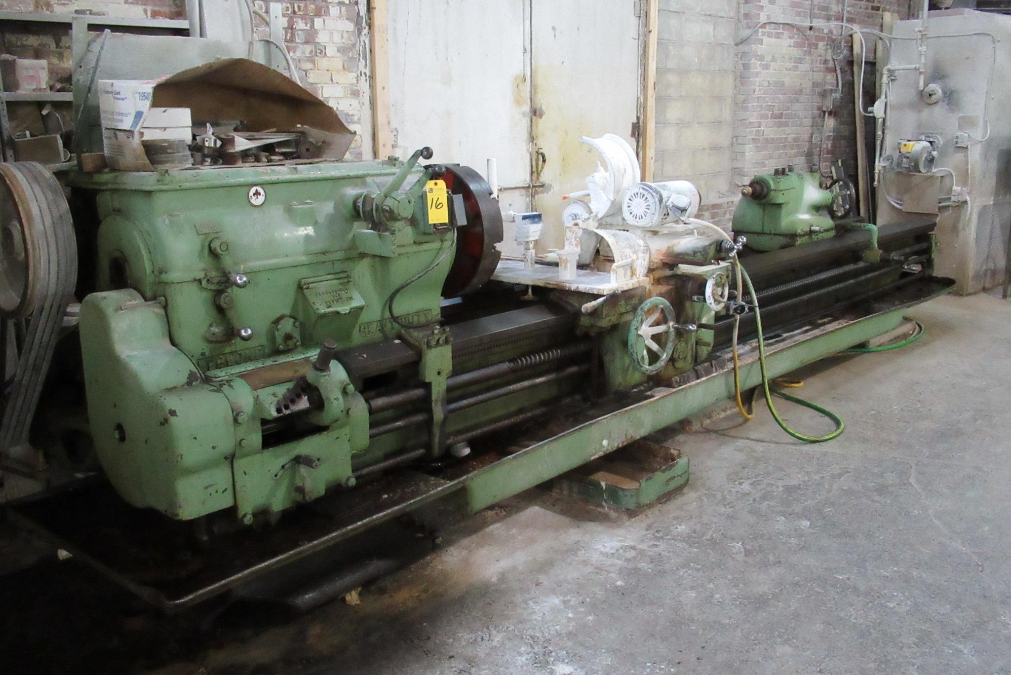 Leblond 22x145 Heavy Duty Engine Lathe Wiring Schematic Lot 16