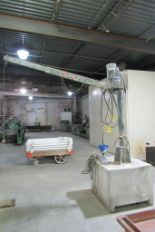 Lot 22 - Venturo Electric Mast Crane, 2,000 Lb. Capacity