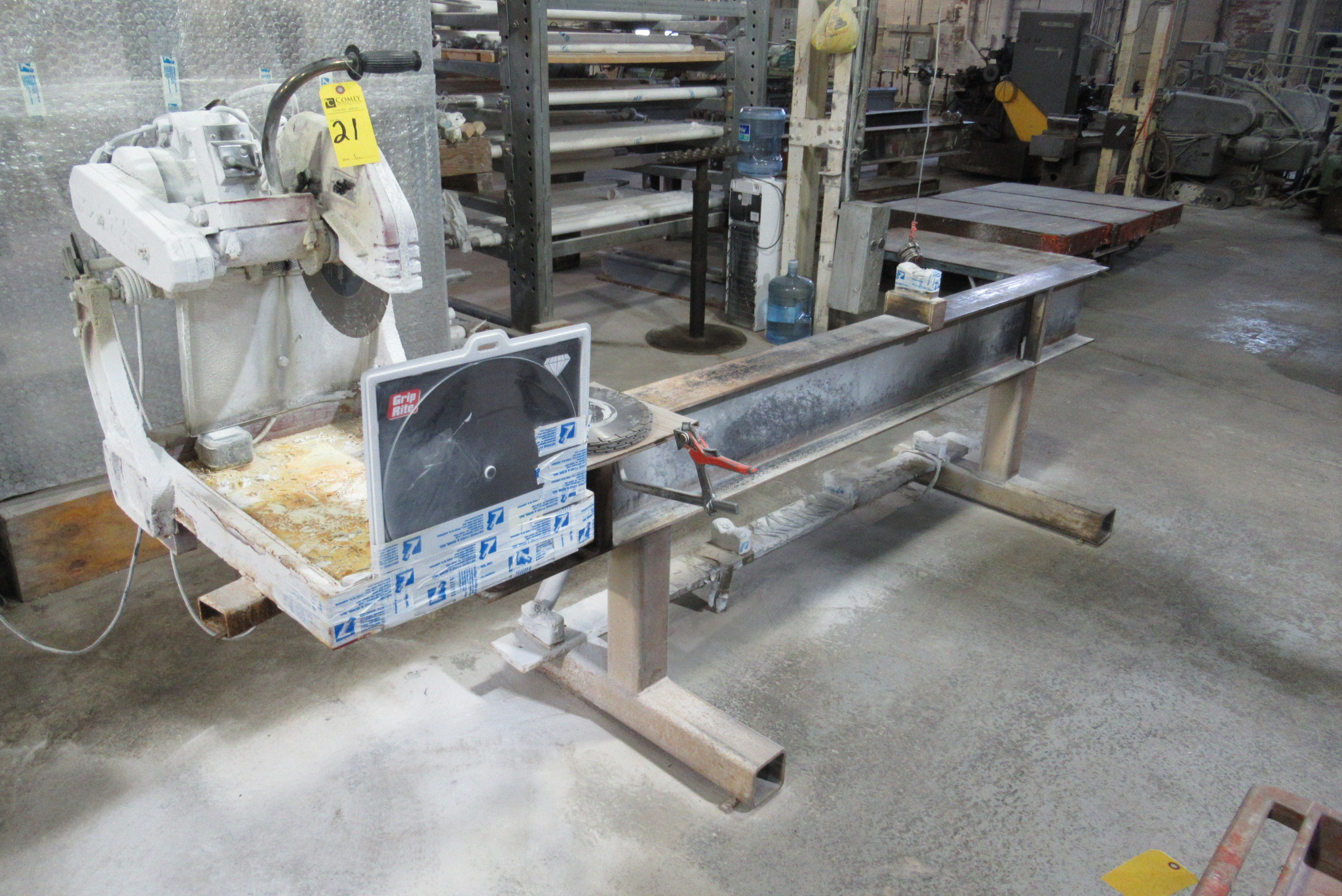 Lot 21 - MK Brick Saw Abrasive Cut-Off Saw