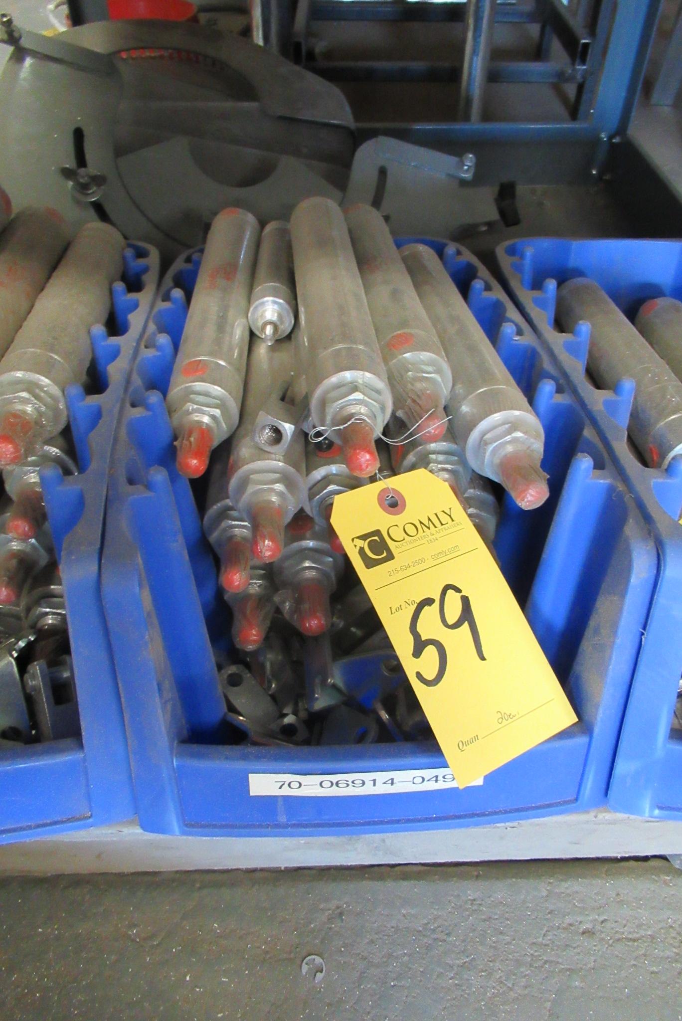 Lot 59 - Bimba Air Cylinders (20 Each)