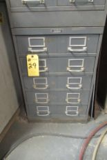 Lot 29 - Cabinet w/Contents: Bolts, Nuts, Bearings, Asst. (Lot)