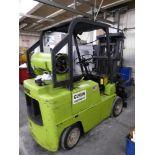 Clark C500-60-1074 LP Forklift, 5,000 Lb.