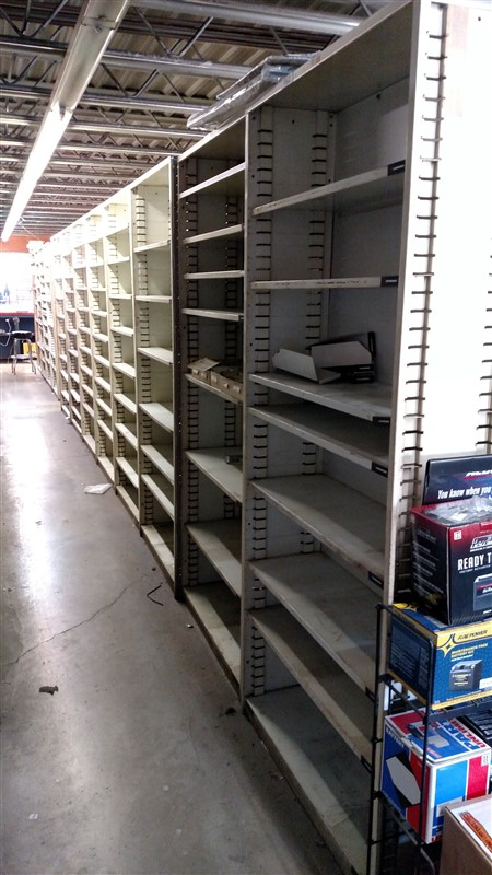 "Lot 51C - (8) Parts Shelving Bins (12"" D each) - (8 x Bid)"