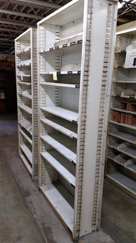 "Lot 51A - (14) Parts Shelving Bins (12"" D each) - (14 x Bid)"