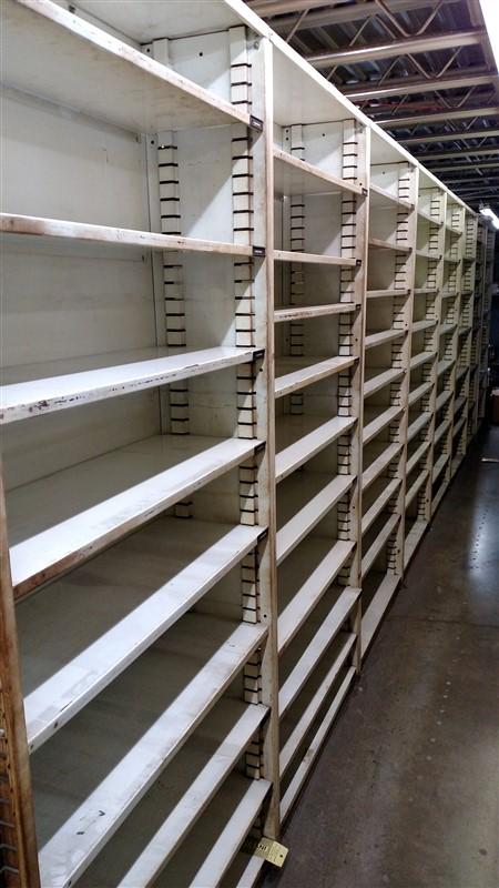 "Lot 51B - (14) Parts Shelving Bins (12"" D each) - (14 x Bid)"