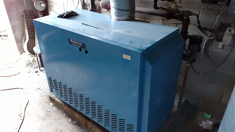 Lot 33 - Buderus Logano G234 Gas Boiler (Remove to Cut-Offs / Additional time given for dismantling and