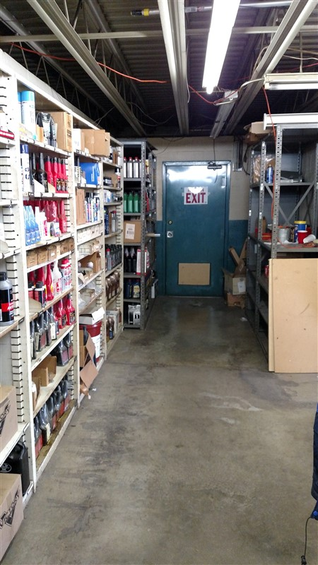 "Lot 51E - (12) Parts Shelving Bins (12"" D each) - (12 x Bid)"