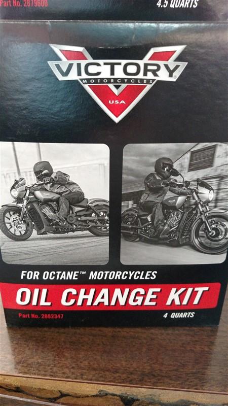 Lot 42 - (8) NEW Victory / Indian Oil Change Kits: 7.25% Sales Tax charged - (8 x Bid)