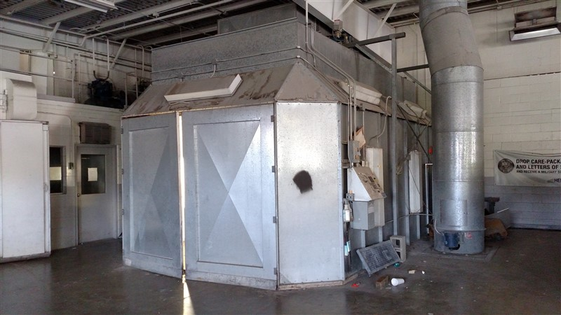 Lot 32 - AFC Downdraft Paint Booth, Complete (Additional time given for dismantling and removal)