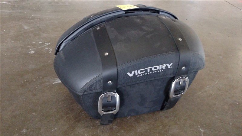 Lot 15 - (2) NEW Victory MC Saddlebags (Set) - VHDA: 7.25% Sales Tax charged - (1 x Bid)