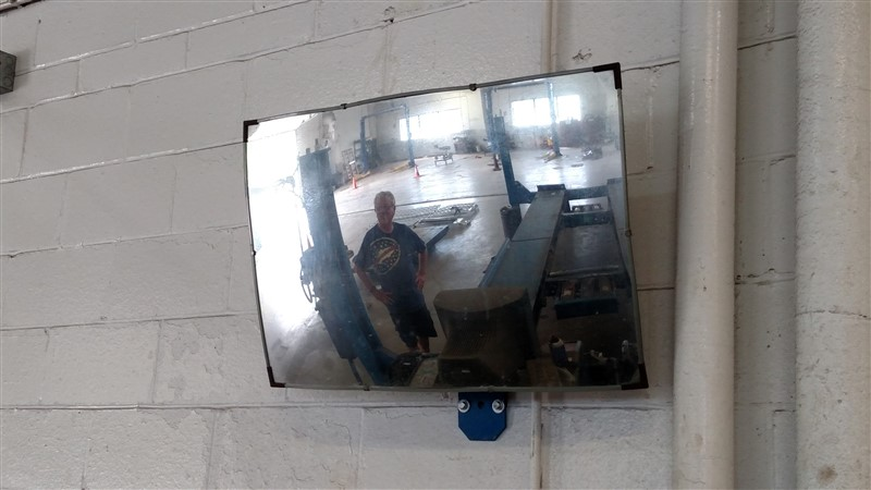 Lot 6B - Alignment Wall Mirror
