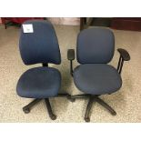 LOT OF 2 COMPUTER CHAIRS