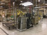 Lot 13B - FANUC UNLOADING / STACKING ROBOT CELL