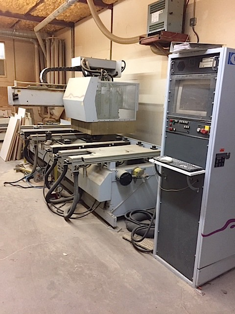 Lot 17 - WEEKE (BP-100) CNC MACHINING CENTER