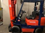 Lot 5 - TOYOTA (42-6FGCU25) 5,000 LBS CAP FORKLIFT LPG 3 STAGE SIDE SHIFT (EXCLUDING TANK)