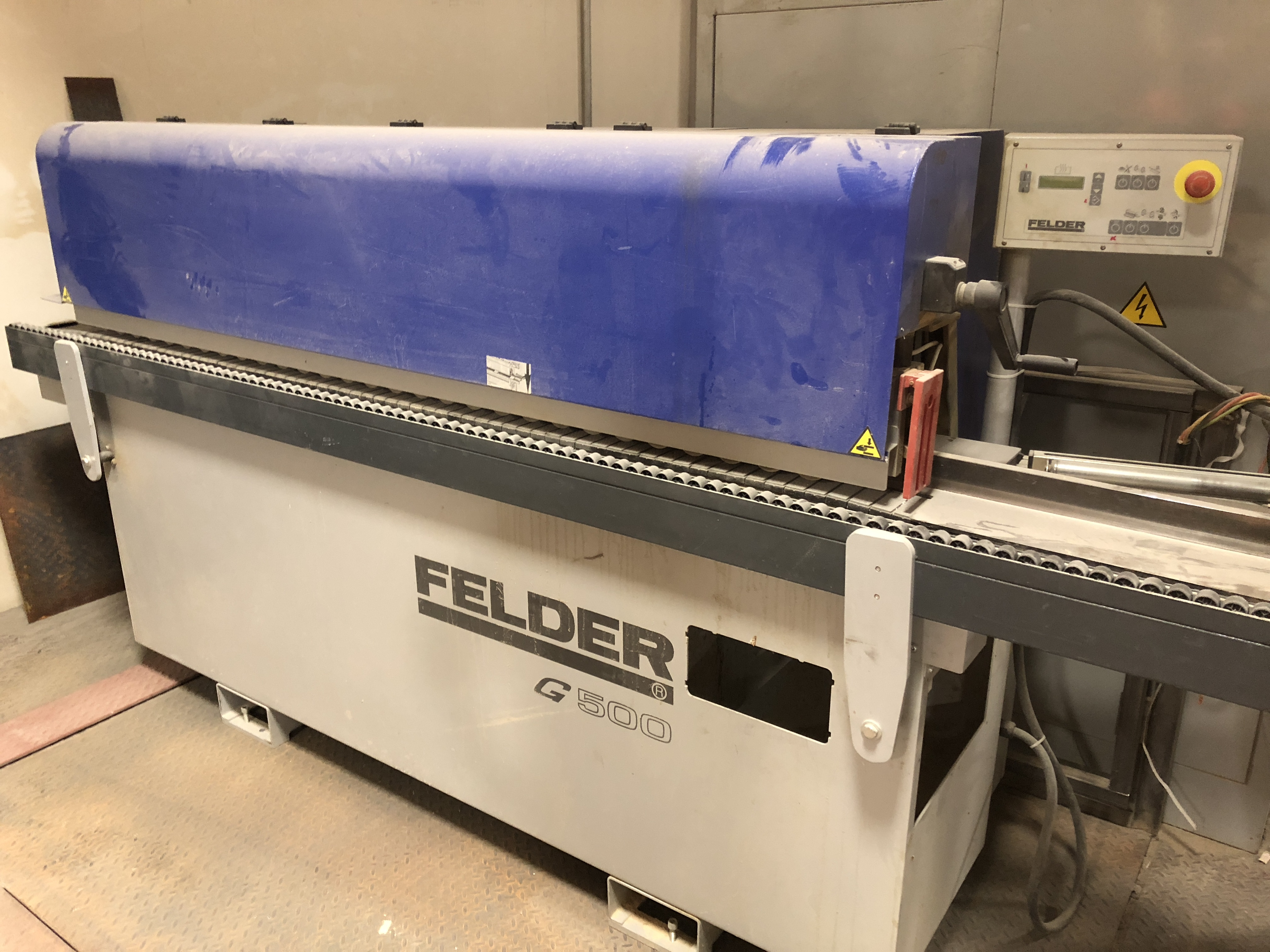 Lot 15 - 2012 FELDER (G500) EDGEBANDER