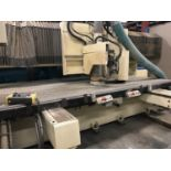 SCM ROUTOMAT 5x10 CNC ROUTER W/ VACUUM PUMPS - upgraded to win 7 computer