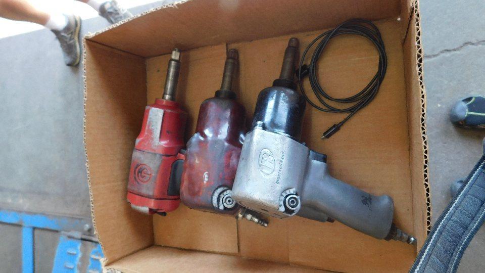 "Lot 6 - (3) IR 1/2"" Impact Wrenches w/ torque stick set"