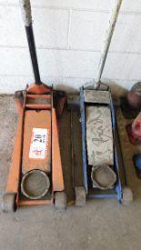 Lot 20 - (2) 3 1/2-Ton Floor Jack (leaks down overnight)