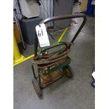 LOT: Welding Cart with Torch, Hose & Gauges