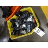 LOT: Assorted Caster Wheels