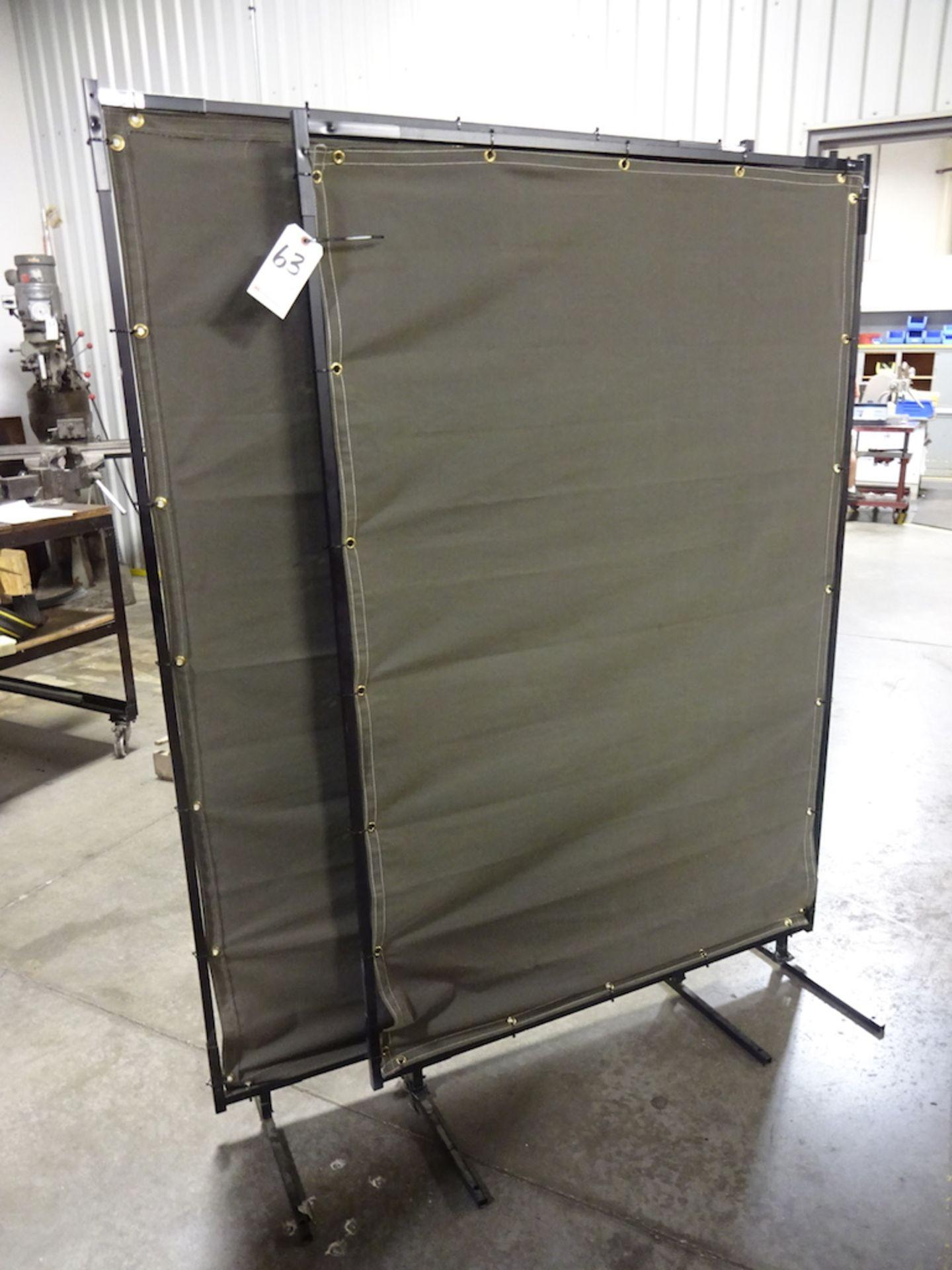LOT: (2) 47 in. x 70 in. Welding Screens