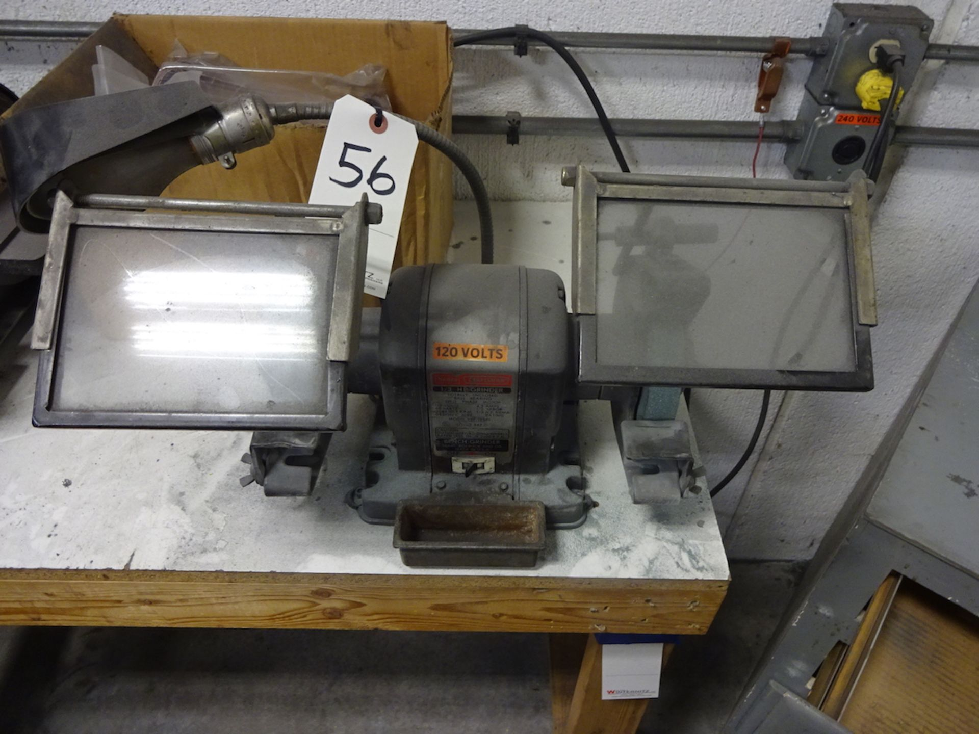 Sears Craftsman 1/3 HP Double End Bench Grinder