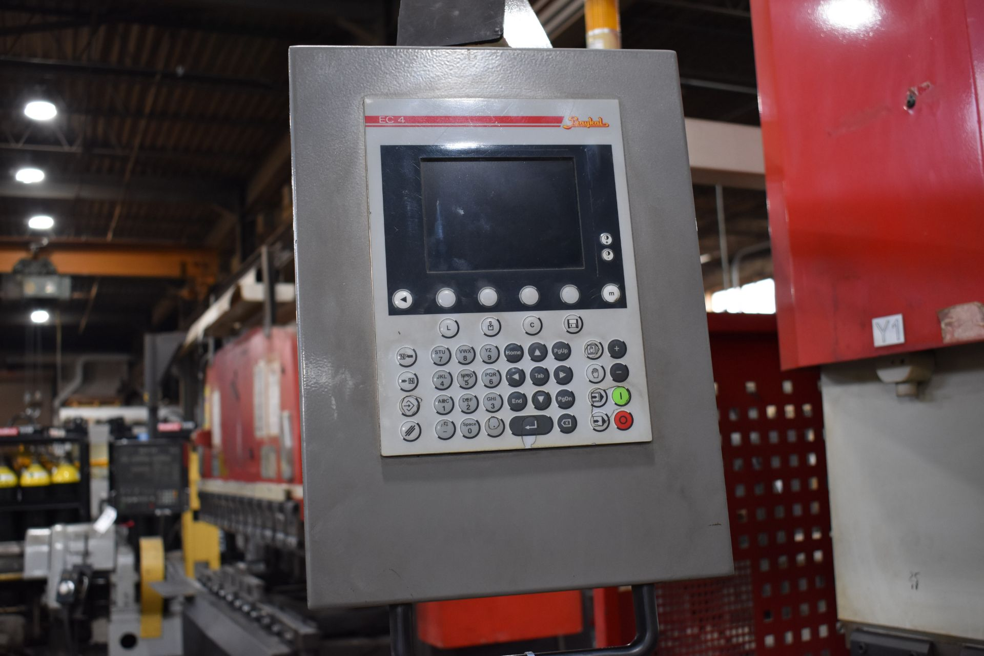 Lot 37 - Baykal Fab-Line 12 ft. x 150 Ton Model APHS3706+150 Compact CNC Hydraulic Press Brake, S/N 11835 (