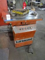 Lot 43 - Tarasconi Notcher, 10 in. x 10 in. Notching Head