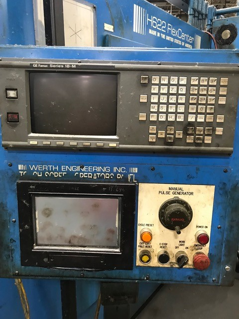 Lot 13 - WERTH ENGINEERING CNC DRILL & TAP CENTER, MODEL H622 FLEX CENTER, SN 96440797, LOCATION MI