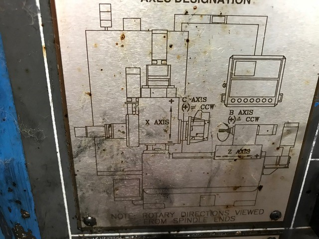 Lot 14 - RETRO FITTED BARBER COLMAN CNC MACHINE BY VERMONT MACHINE TOOL, LOCATION MI