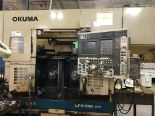 Lot 6 - OKUMA LFS10 M-2SP TWIN SPINDLE CNC LATHE WITH MILLING & GANTRY LOADER, YEAR 2003, SN 104496, LOC. IL
