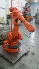 Lot 84 - ABB ROBOT IRB 2400 WITH S4C+ CONTROL, CABLES, LOCATION ONTARIO CANADA