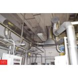 S/S Kettle Exhaust System with Ductwork to Ceiling - Rigging Price $ 750