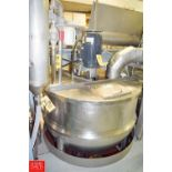 Lee 300 Gallon S/S Jacketed Kettle, 90 PSI, Model: 3000, with 7.5 HP Vertical Agitator, S/N 10948-