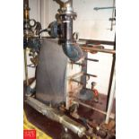 American Heat Plate Heat Exchanger, 407 SqFt. Surface with Valves - Rigging Price $ 250