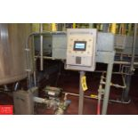 """ADS 4"""" Flow Through Metal Detector, Model: Proscan 12ST, S/N 680068-2 with Air Actuated Reject Valve"""