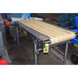 """79"""" Long x 36"""" Wide, S/S Frame Spreader Conveyor with SEW Gear Reducing Drive (Located in"""
