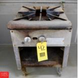 """Imperial Manufacturing Company 18"""" Gas Burner Model SPA18 - Rigging Fee $ 75"""