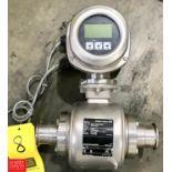 """Endress Hauser Promag H S/S 2"""" Flowmeter - Rigging Fee $ 25"""