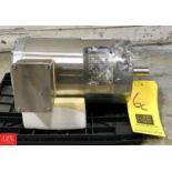 NEW Baldor 1.5 HP 1,725 RPM S/S Clad Washdown Motor - Rigging Fee $ 25