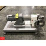 APV PD Pump Model R4HDBR, Mounted on S/S Base **Subject to Confirmation - Rigging Fee $ 50