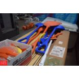 NEW Plastic Shovels and Brush Handles (Located in Pittsburgh, Pa) - Rigging Fee $ 25